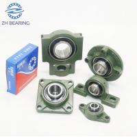 China Green Pillow Ball Bearing UCT206 With Flange Mount Stainless Steel Long Life wholesale
