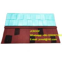 China Industrial corrugated roofing sheets Heat insulation blue shingle / classic / bond wholesale