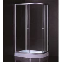 China Oval Shape 1000 X 800 Quadrant Shower Enclosures And Tray With Low Resin Tray wholesale
