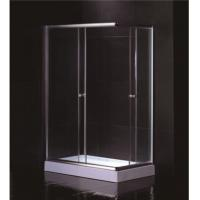 China Free Standing 1200 X 800 Rectangular Shower Enclosure With Tray Center Drain wholesale