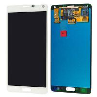 Buy cheap White Mobile Phone LCD Display / Samsung Note 4 LCD Digitizer from wholesalers