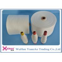 China Colored Top Dyed Polyester Yarn /  Spun Polyester Sewing yarn Eco-Friendly wholesale