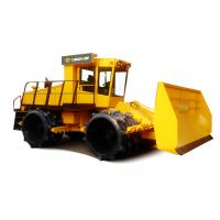 China Waste Compaction Machine 26 Ton Heavy Duty Landfill Compactors With Dozer Blade on sale