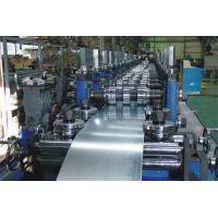 China G.I Coil / Carbon Purlin Roll Forming Machine With Touch Screen wholesale