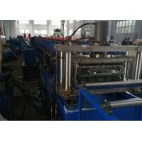 Buy cheap GCR15 Roller Material Rack Shelf Cold Roll Forming Machine with Cr12Mov from wholesalers