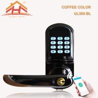 China Smart Bluetooth Electronic Keypad Door Lock Password Control For Home Security wholesale