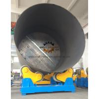 China Self Adjustment Pipe Welding Rotator With  PU Wheels 80 Ton Loading Capaicty wholesale