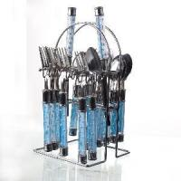Buy cheap Stainless Steel Cutlery with Plastic Handle from wholesalers