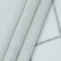 Quality silver cotton electromagnetic shielding curtain canopy fabric for sale