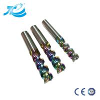 Buy cheap DLC End Mill For Aircraft Aluminum High Speed High Finishing Cnc Tool Milling from wholesalers