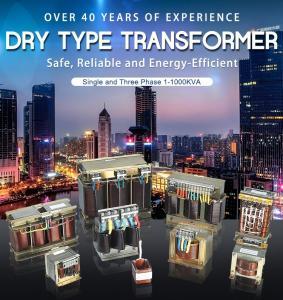 China Single And Three Phase Dry Type Transformer 1-1000kva Copper Alumnium wholesale