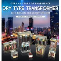 Buy cheap Single And Three Phase Low Voltage Dry Type Transformer 1-1000kva Copper from wholesalers