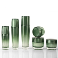 China Eco Friendly 100ml Acrylic Cosmetic Containers For Essence wholesale