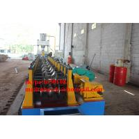 China Guardrail crash barrier roll forming machine wholesale