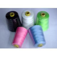 China Multi Color 100 Spun Polyester Sewing Thread 30 / 2 40 / 2 50 / 2 60 / 2 wholesale