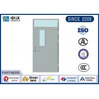 China High Temperature Resistant Fire Door Insulation With Skylight And Glass 32*200*900 Mm wholesale