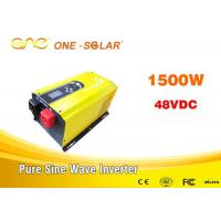 China 1000w 1500w Power Dc Ac Inverter / DSP Chip Solar Energy Inverter wholesale
