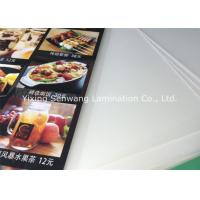 Crack Resistance Pouch Laminating Film A5 , Small Menu Laminating Pouches