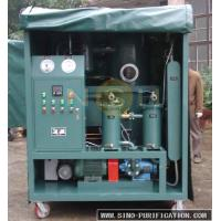 China Impurities Removal High Vacuum Oil Purifier 600-18000L/H Custom Color For transformer wholesale