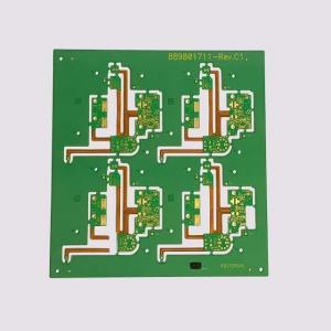 Prepreg PCB Prototype 2 Layers Lead Free Surface HASL Green Solder Resist Color