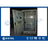China Professional Weatherproof Outdoor Data Cabinet Energy Saving 2195×900×900 mm wholesale