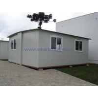 Quality Foldable Modular Prefabricated Housing / White Portable Emergency Housing for sale