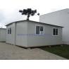 China Foldable Modular Prefabricated Housing / White Portable Emergency Housing wholesale