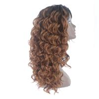 China Synthetic Material Curly Hair Extensions Human Hair Lace Front Wig Technique wholesale