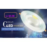 China COB LED Down Light with Epistar LED Isolated IC constant driver 3W/5W/7W/12W/15W CE RoHs wholesale