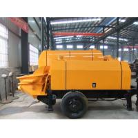 Buy cheap HBT series trailer mounted concrete pump with diesel engine (HBT50.13.82RSC) from wholesalers