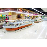 Buy cheap Energy Efficient Countertop Refrigerated Display Case Merchandizer For Sausage from wholesalers