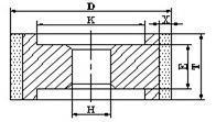 9A1 diamond grinding wheel