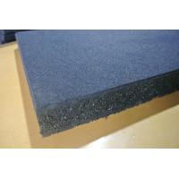 China Shooting Gallery Rubber Flooring Sheet Roll , 12mm Heavy Duty Rubber Matting Roll wholesale