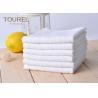 China White Cotton Washcloths 100% Long Stapled Luxury Face Flannels wholesale