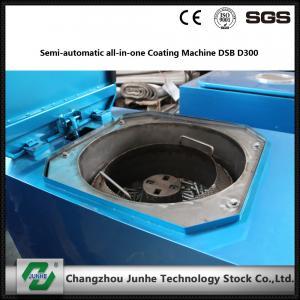 China Semi Automatic Metal Coating Line / Zinc Flake Coating Machine Max Capacity 400kg/H wholesale