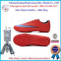 China men's fashion outdoor PVC soccer shoes moulds, PVC sport running shoes moulds, PVC sneaker on sale