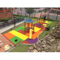 China EPDM Rubber Playground Mats ,Rubber Flooring with Custom Size wholesale
