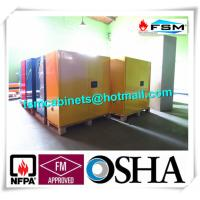 China Venting Flammable Safety Cabinets , Chemical Storage Containers Double Doors wholesale