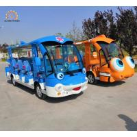 China New design luxury Sightseeing Car dolphine/clownfish design Electbusric tourist on sale
