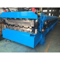 China Roofing Profile Double Layer Roll Forming Machine Automatically 380V 50Hz 3 Phases wholesale