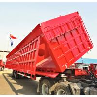 China Side Dump Trailer, Tipping Trailer, Tipper Trailer, Hydraulic Dump Trailer, Side Tipping Trailer on sale