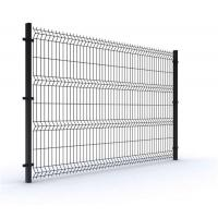 Buy cheap Powder Coated Wire Fence 1.83x2.5m 3D Triangle Bending Panel Fence With Longlife from wholesalers