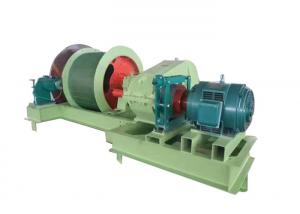 China High Speed 45kw 1.0m Electric Wire Rope Winch Machine wholesale
