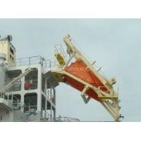 China 25Persons Free Fall Lifeboat With life boat davit wholesale