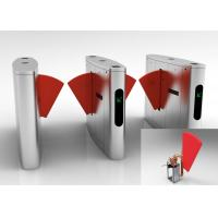 Buy cheap Metro Anti - Pinch Flap Barrier Gate Matching Of Various Identification Systems from wholesalers