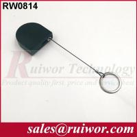 China 2.8x2.8x0.8Cm Box Ipad Retractable Security Cable With Demountable Key Ring wholesale