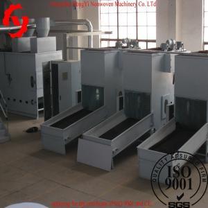 China Auto Bale Opener Machine , 1100mm Nonwoven Fabric Machine For Pillow Flling wholesale