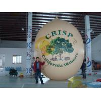 China Air Brush UV Printed Wall Nut Fruit Shaped Balloons For Helium / Event Show 5m High wholesale