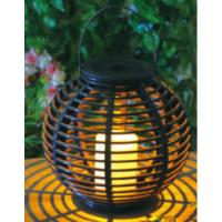 China Plastic Material Solar Garden Lights , Solar Outdoor Lighting With Natural Looking on sale