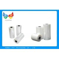 China Liquid Bottles Packing Pvc Shrink Wrap Film with Excellent Sealing Under High Speed wholesale